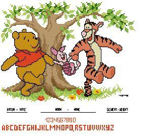 Pooh Group Birthsampler Sarina